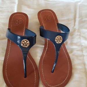 Tory burch sandals navy